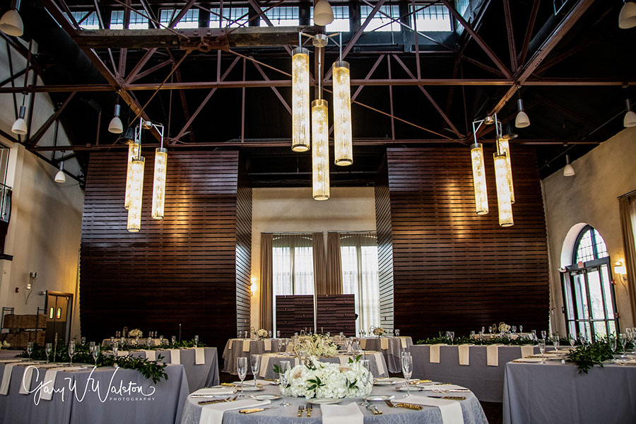 Interior of Phoenixville Foundry During Wedding