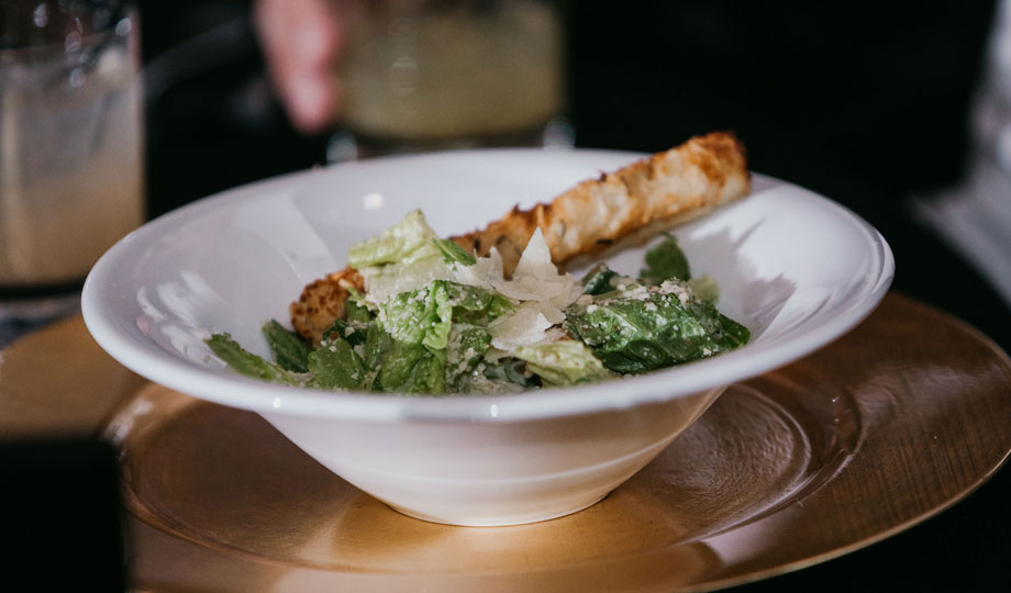 Caesar salad by Queen of Hearts Catering