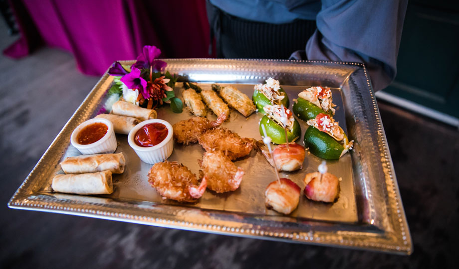 Tray of Passed Appetizers