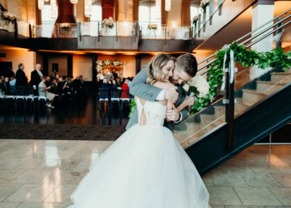 A Summer Wedding at the Phoenixville Foundry Was Featured on J. Scott Catering's Blog