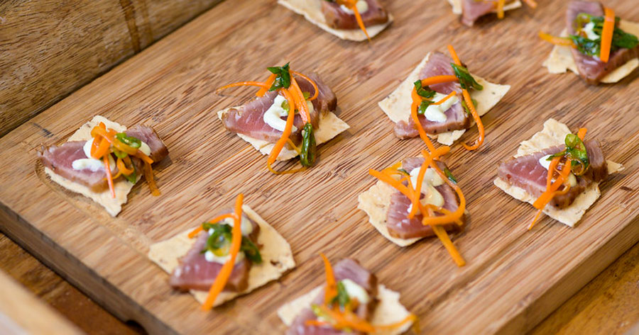 Couples Get a Taste of J. Scott Catering's Farm-to-Table Wedding Menu