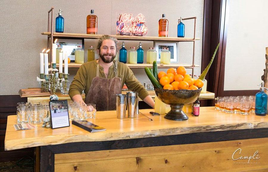 J. Scott Catering Bartender at Foundry Tasting