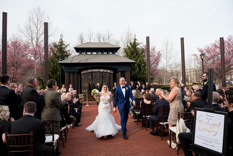 Sunday Outdoor Wedding at Phoenixville Foundry Venue