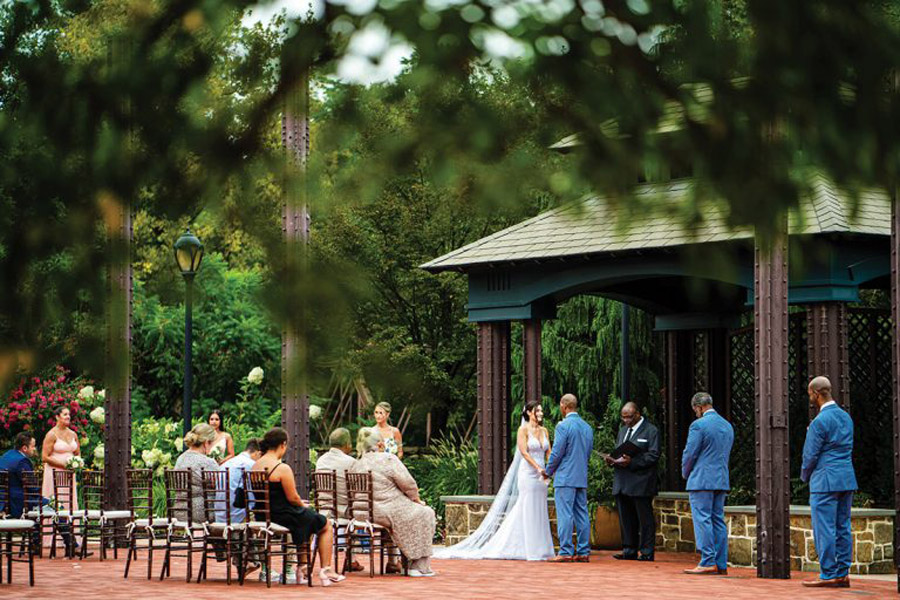 Kelly and Rodney's Phoenixville Foundry Wedding Featured in Main Line Today